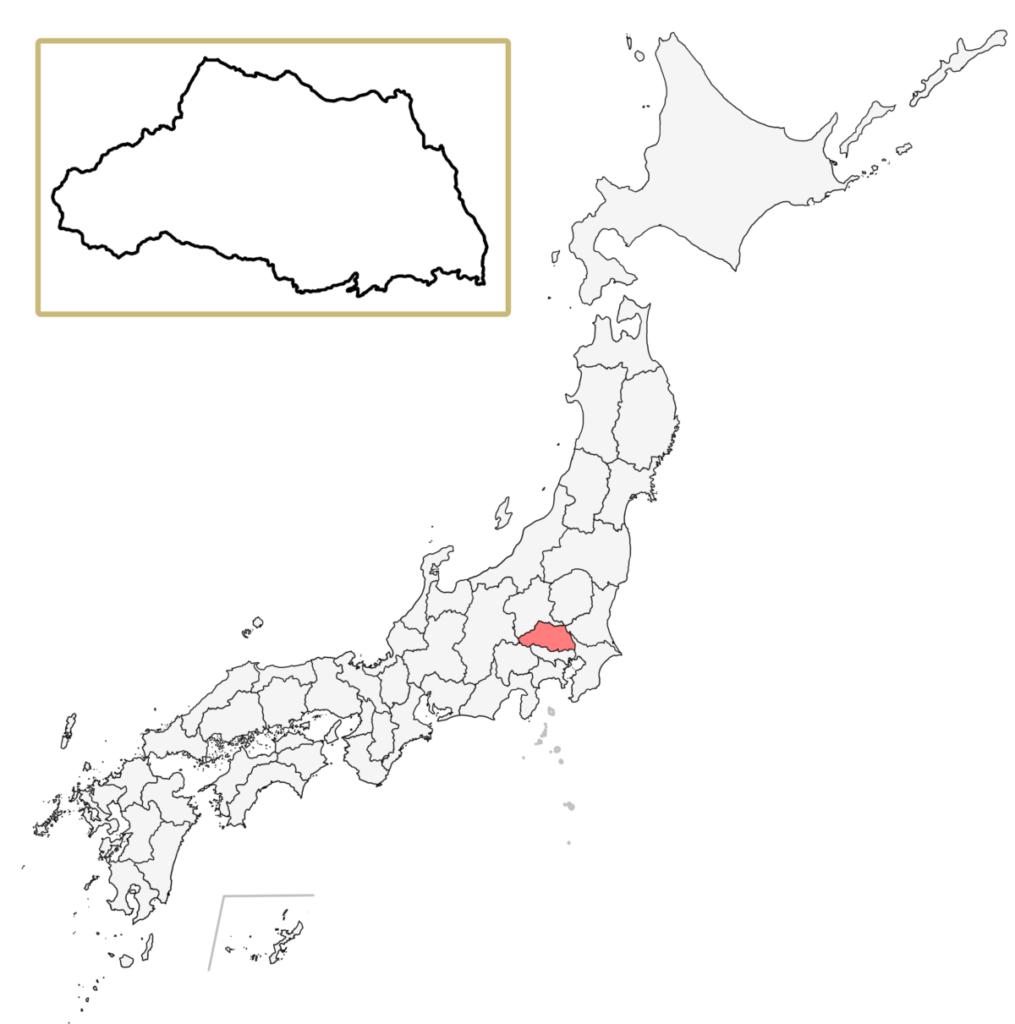 日本 埼玉県 地図