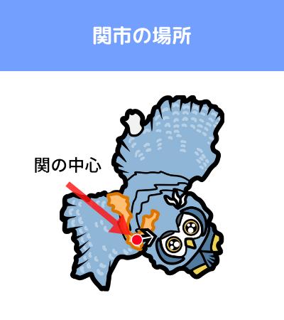 刀 覚え方 関市の場所 地図
