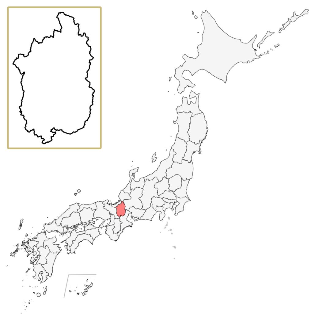 日本 滋賀県 地図
