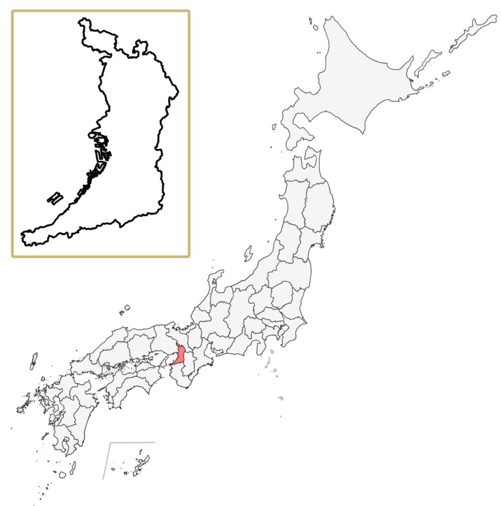 日本 大阪府 地図