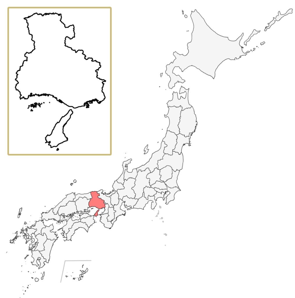 日本 兵庫県 地図