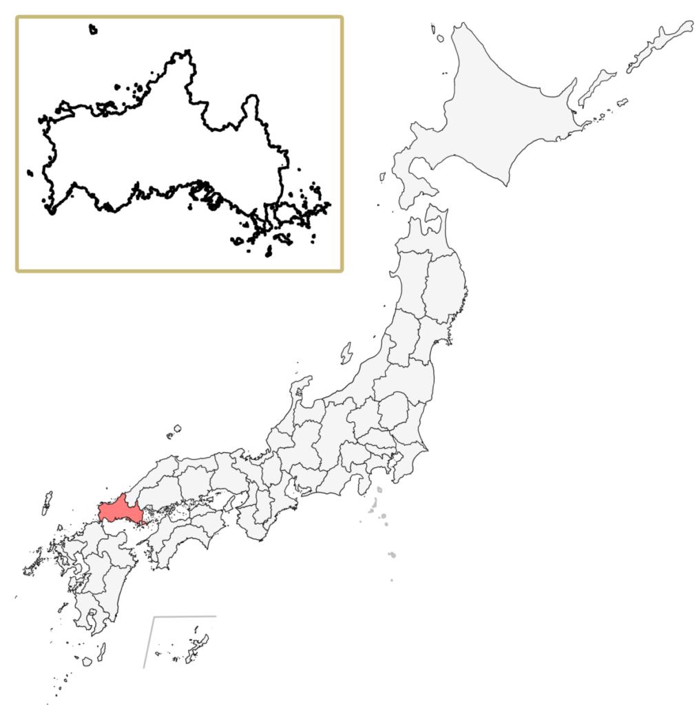 日本 山口県 地図