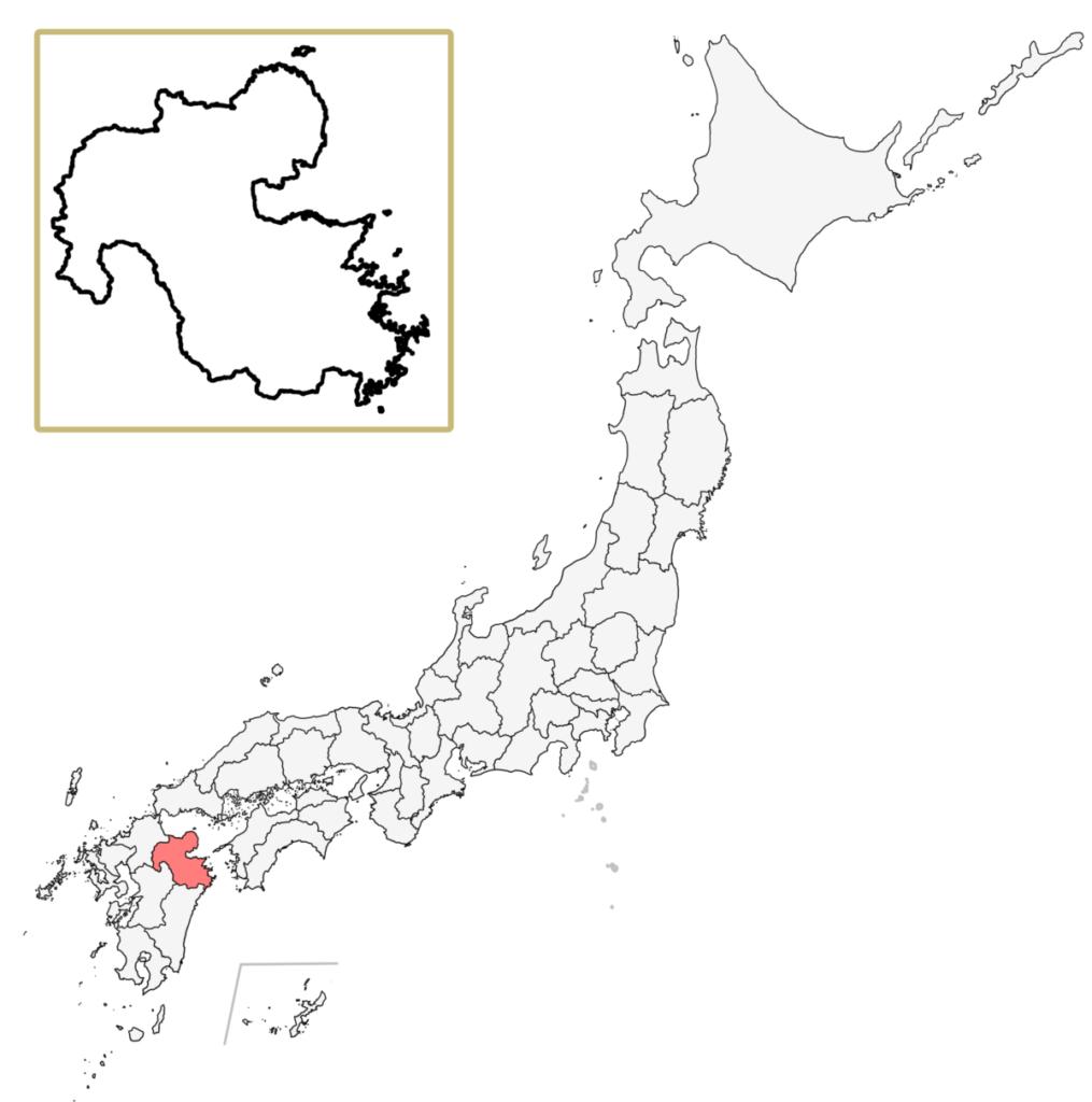 日本 大分県 地図