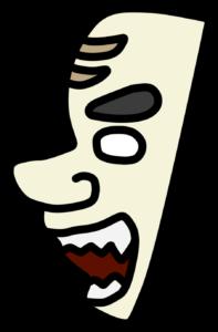 宮崎県 地図の形 覚え方 神楽の仮面