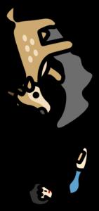 鹿児島県 地図の形 覚え方 小鹿と少年