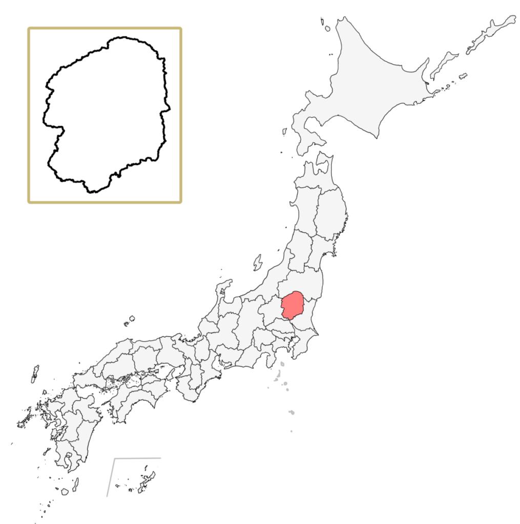 日本 栃木県 地図