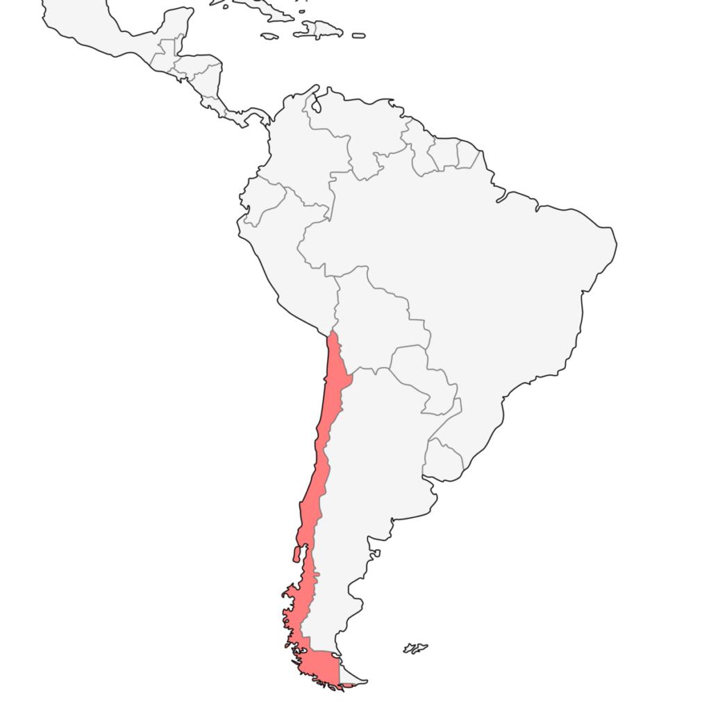南米 コスタリカ 地図