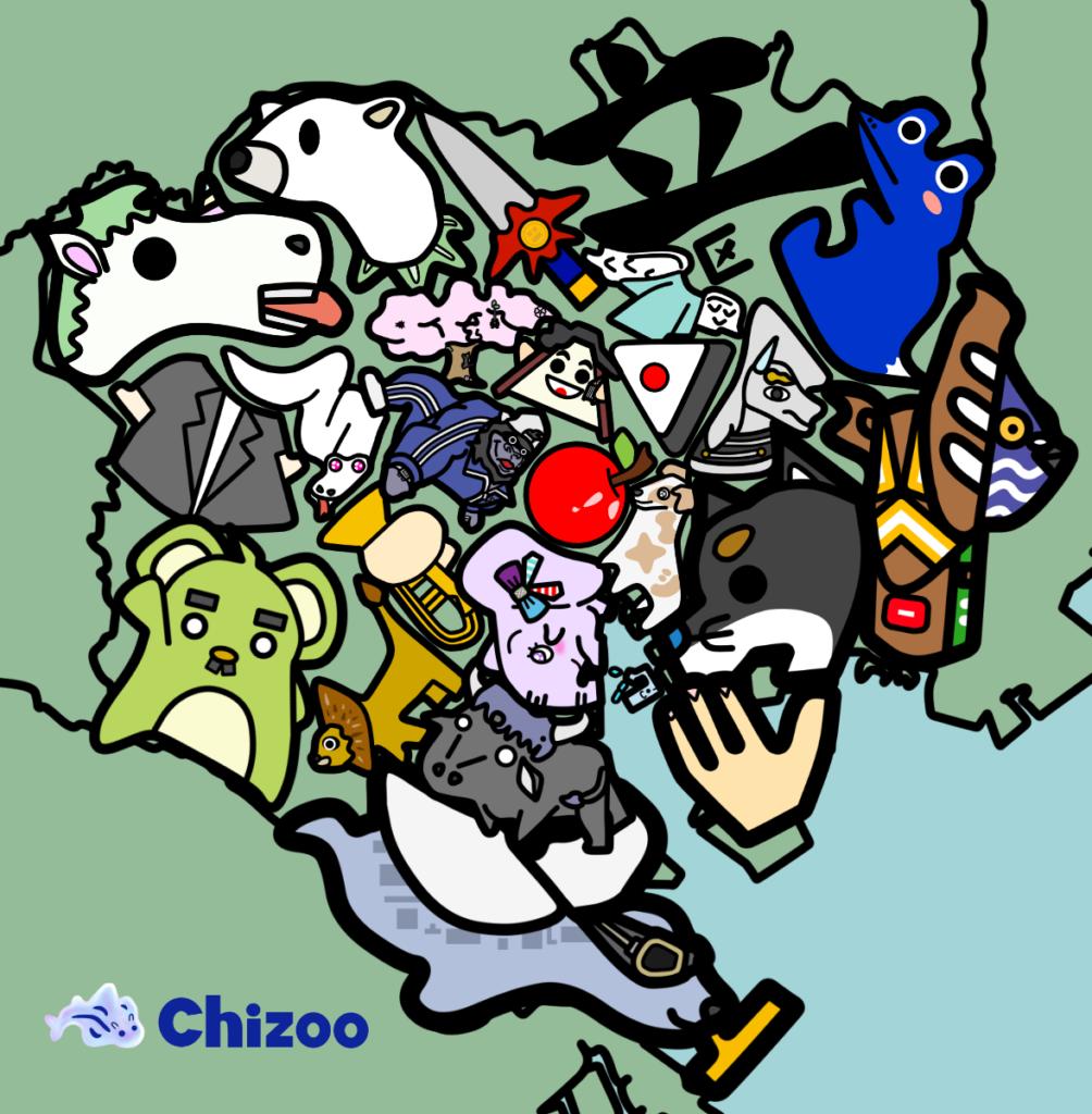 東京23区 覚え方 地図