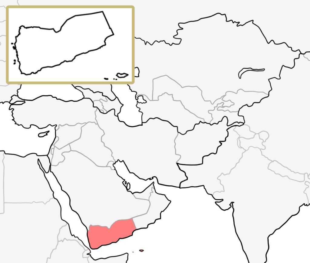 中東 イエメン 地図 覚え方