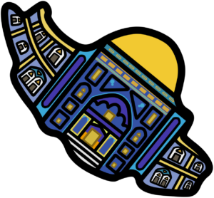 イラン 地図 イラスト